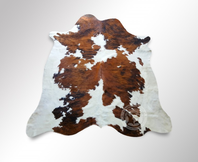 Colombia black & white cowhide